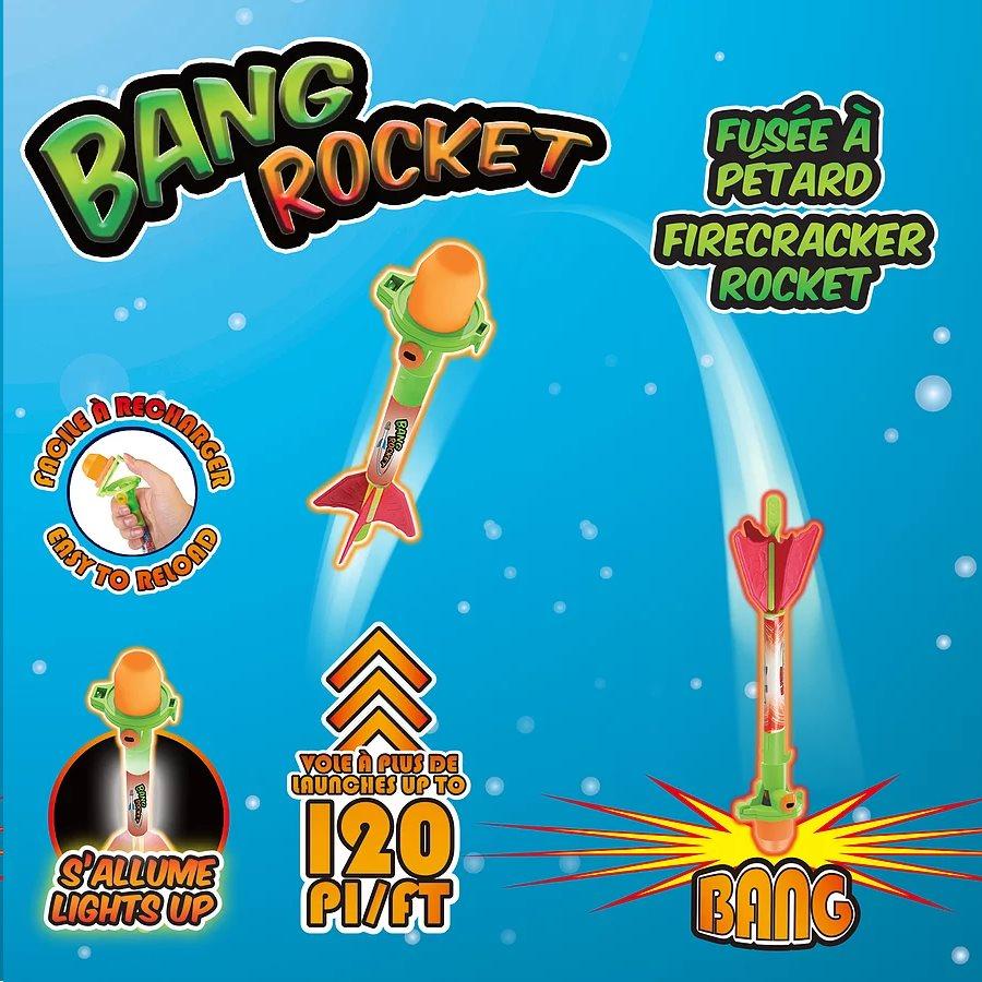 Rocket Bang Rocket Pétard Bang Lumineuse Fusée EH2IWD9