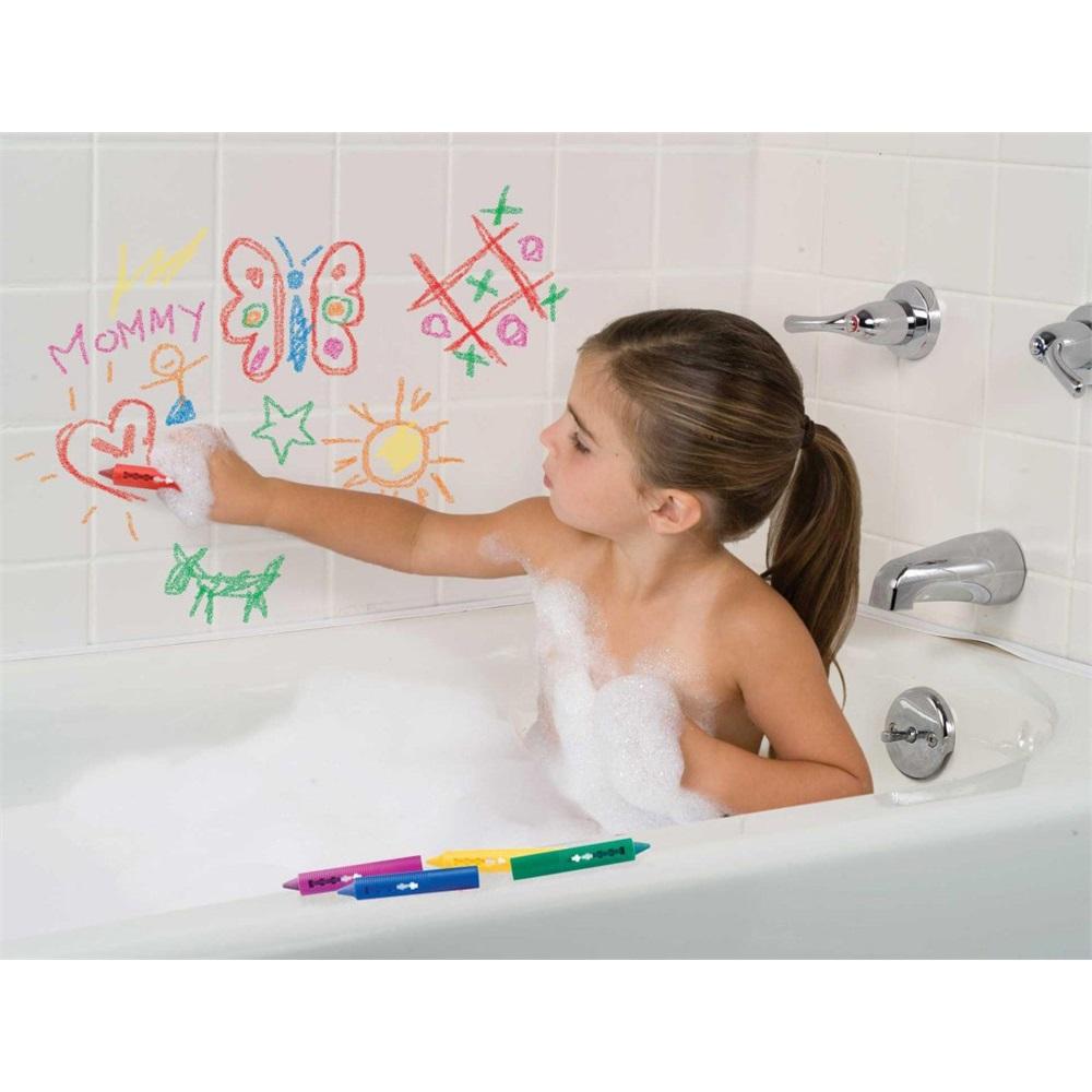 Crayons pour dessiner dans le bain