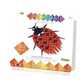 Creagami Origami 3d Coccinelle Facile 113 Pièces