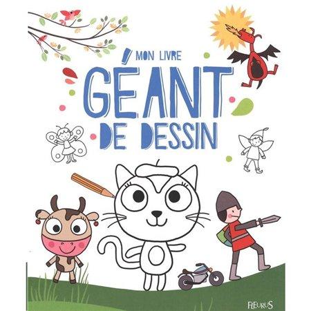 Mon Livre Geant De Dessin