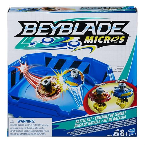 beyblade micros mini toupie ensemble pour 2 joueurs. Black Bedroom Furniture Sets. Home Design Ideas
