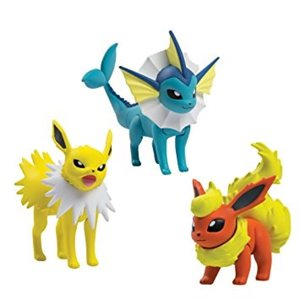 Pokémon - 3 figurines