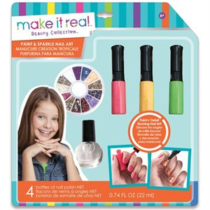 Make it real - Manucure création tropicale