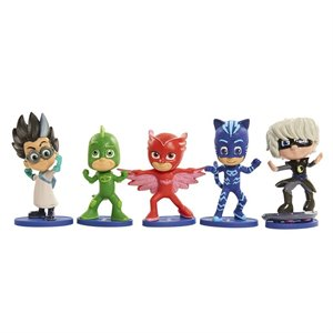 PJ Masks - Ensemble de 5 figurines
