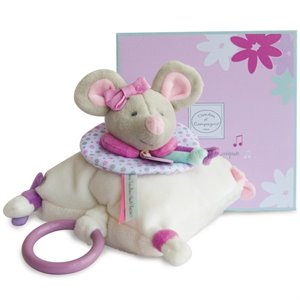 Souris Pearly - Peluche musicale