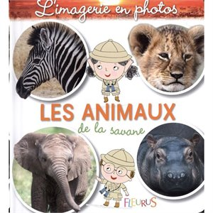 L'imagerie en photos - Les animaux de la savane