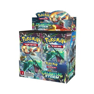 Cartes Pokemon Sun & Moon booster